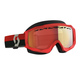 Scott Hustle Snow Cross red/grey enhancer red chrome