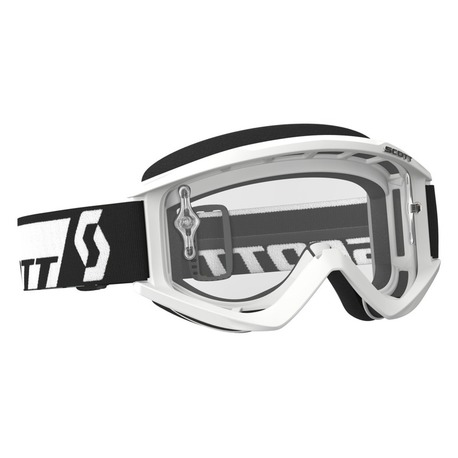 Scott Goggle Recoil Xi white clear works