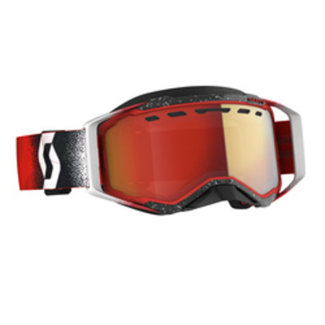 Scott Goggle Prospect Snow Cross white/red enhancer red chrome