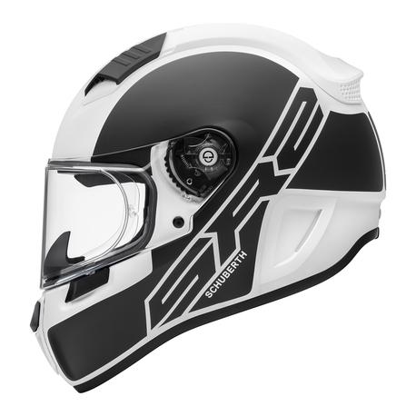 Schuberth Kypärä SR2 Traction valkoinen