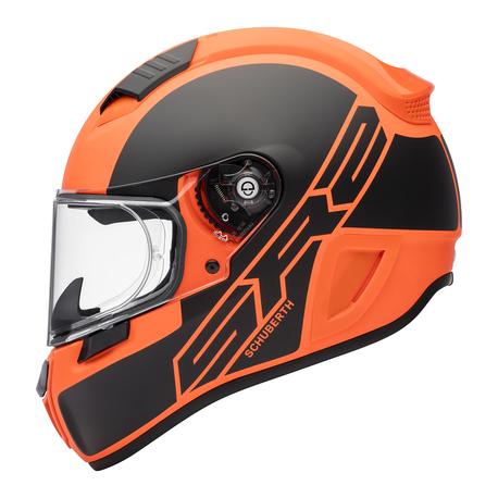 Schuberth Kypärä SR2 Traction oranssi