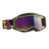 Scott Goggle Prospect Snow Cross black/yellow enhancer teal chrome