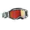 Scott Goggle Prospect Snow Cross grey/grey light sensitive red chrome