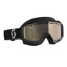 Scott Hustle Snow Cross black/grey light sensitive bronze chrome